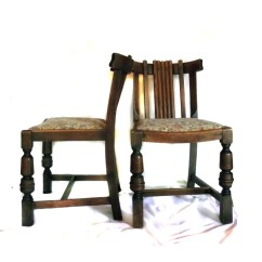 Jasper Chair Company Office Mat Walmart Sale 30s 40s Chairs Vintage Cottage Chic Set Of 2