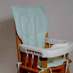 Eddie Bauer High Chair Cover Pattern 2 Seat Garden Table And Chairs Honeycomb Aqua