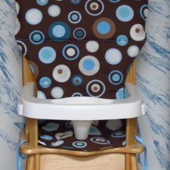 Graco Blue Owl High Chair Walmart Futon Eddie Bauer/jenny Lind Wood Cover By Sewingsilly