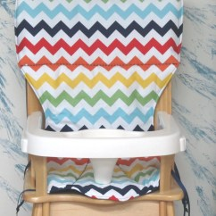 Graco Duodiner High Chair Cover Replacement Big Wicker Eddie Bauer Coverpadcushionrainbow