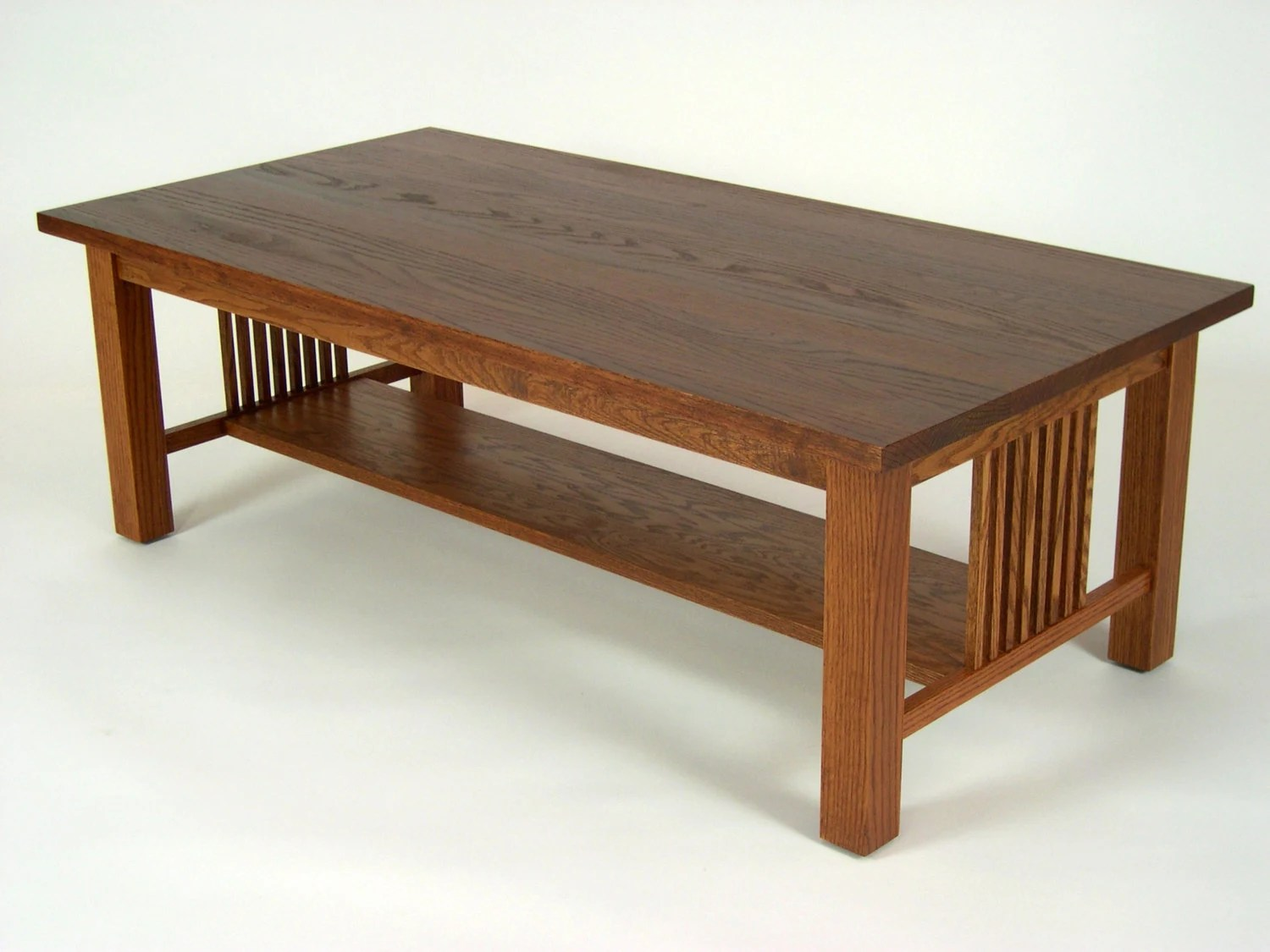 stickley sterling sofa table blueprints mission oak arts and crafts style coffee cocktail