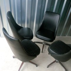 Chromcraft Chairs Vintage Breuer Replacement Seats And Backs Set Of 4
