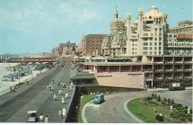 Atlantic City Boardwalk And Hotels 1960s