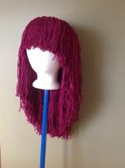 handmade crochet yarn hair wigwomen