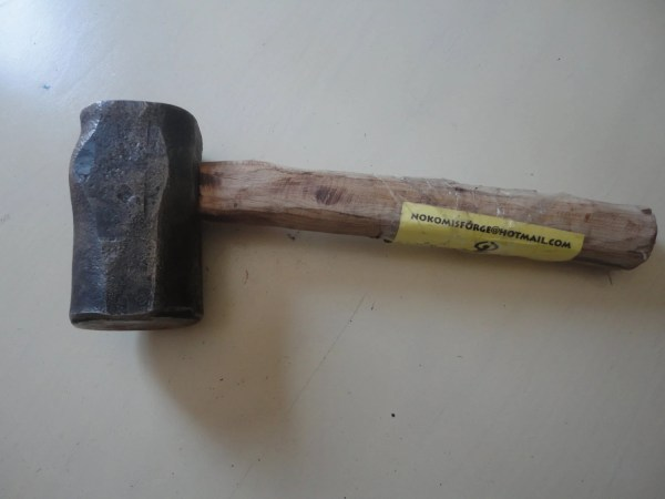 Blacksmith Hammer-japanese Style Hand Forged