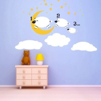 Counting Sheep wall decal kids kids wall decals nursery