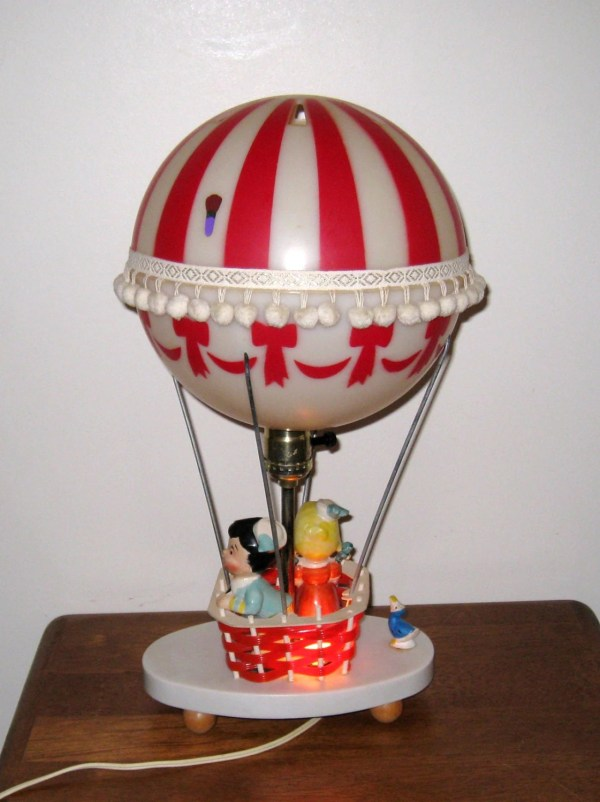 1970s HOT AIR BALLOON Lamp & Nightlight / The by ...