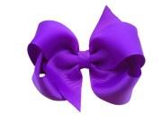 4 purple boutique bow