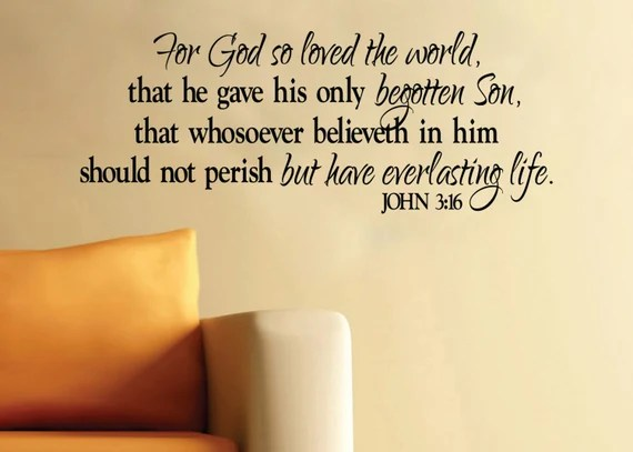 Download John 3:16 For God so loved the world that he gave His only