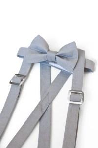 Little Boys Suspenders Set Suspenders Bow Tie Set Toddler