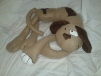 Dog Neck Pillow by MylittlePapoose on Etsy