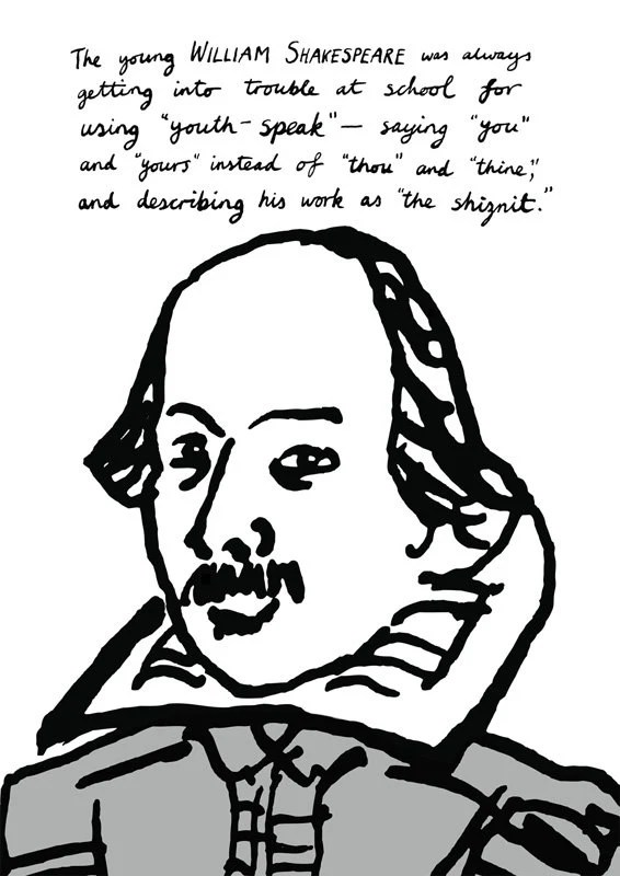 William Shakespeare Poster Print In Trouble At School