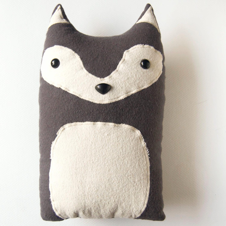 Wolf Woodland Plush Stuffed Animal Pillow Liam