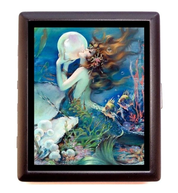 Art Nouveau Deoc Pin Mermaid With Pearl