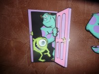 large mike and sully in door Die Cut birthday decoration