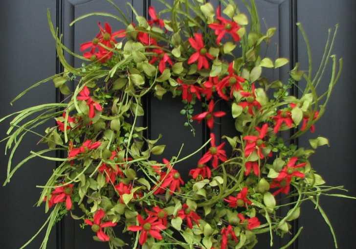 Spring Front Door Wreaths