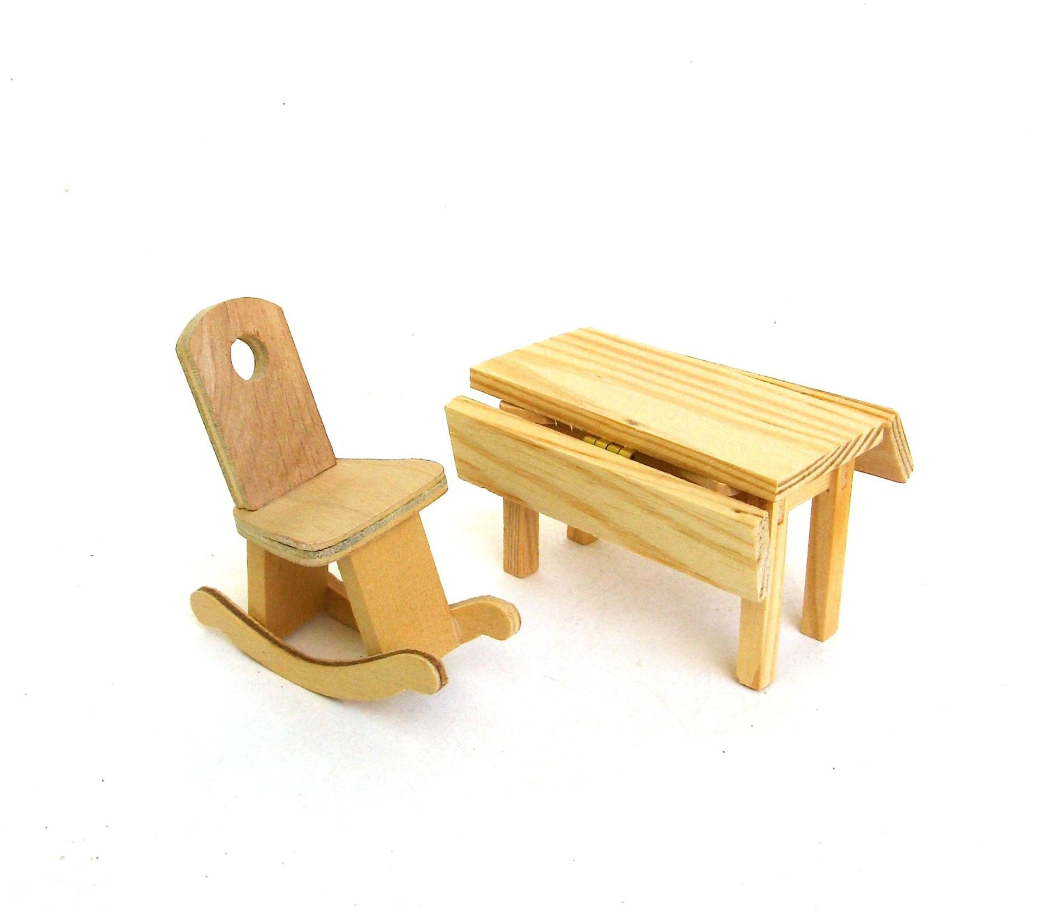 mini rocking chair big lots lounge chairs vintage miniature wooden and drop by