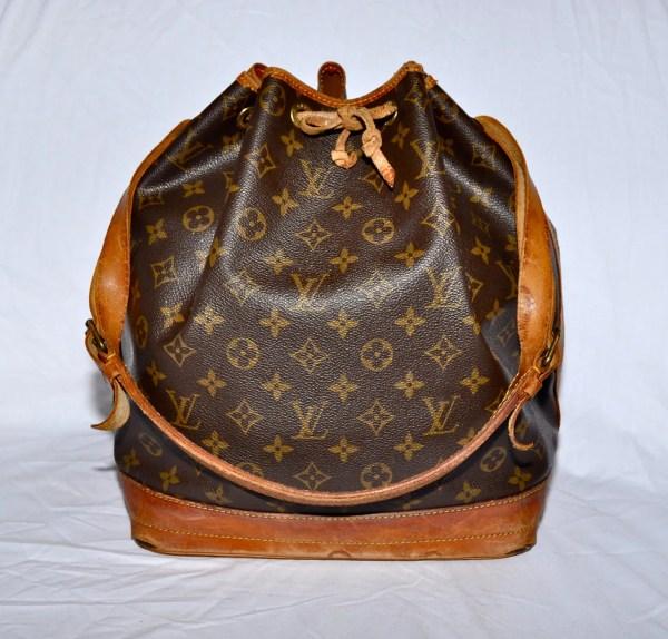 Louis Vuitton Large Size Noe Drawstring Bucket Bag Monogram