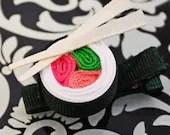 Sushi Roll Wasabi  Hairclip - OingOing