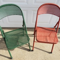 Metal Folding Chairs Wholesale Red Chair Nwpa Clone Recipe Vintage