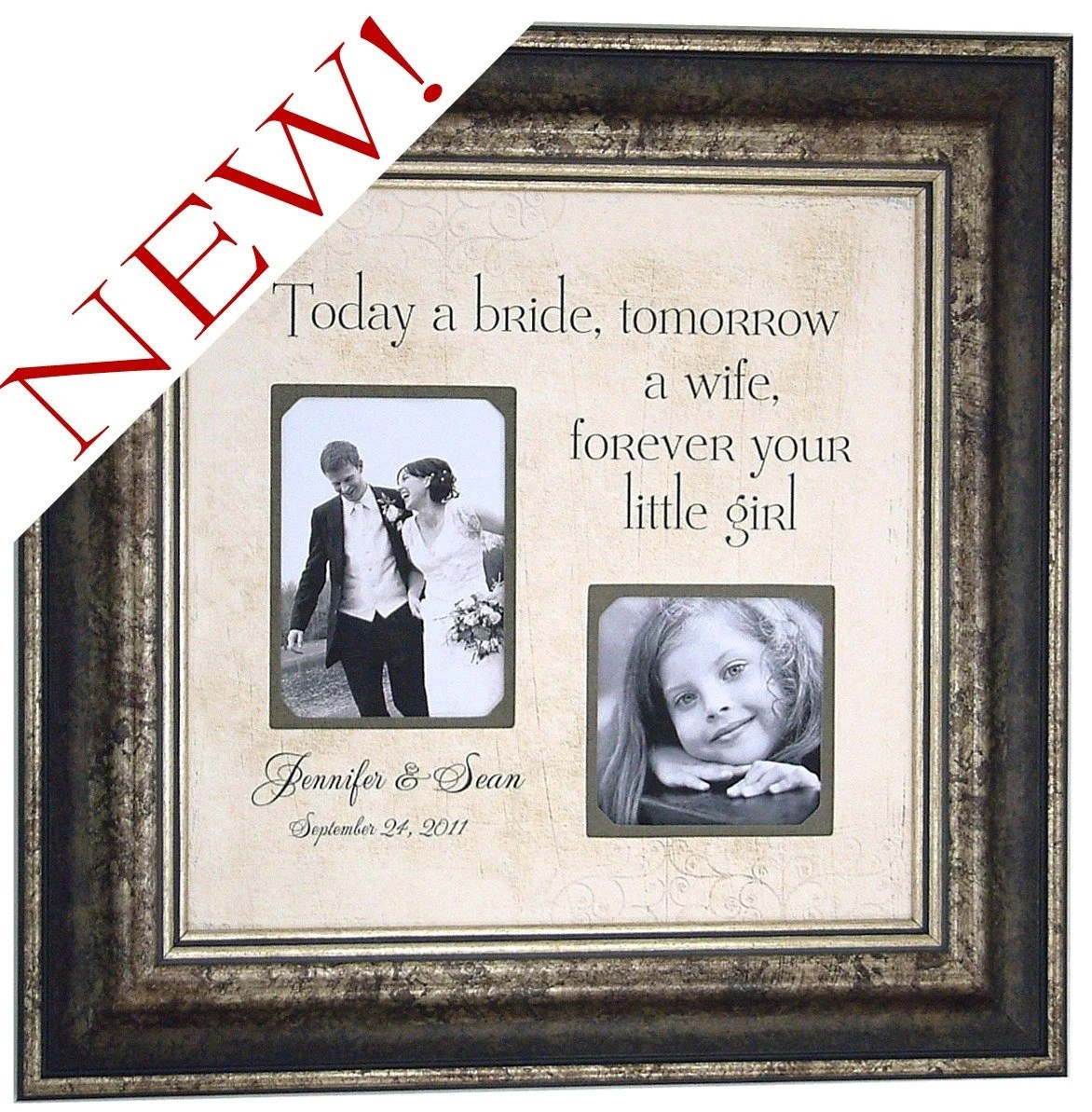 Mother Of The Bride Gifts Personalized Wedding Frame Father Of The