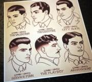 1920's gentlemen's hairstyle barber