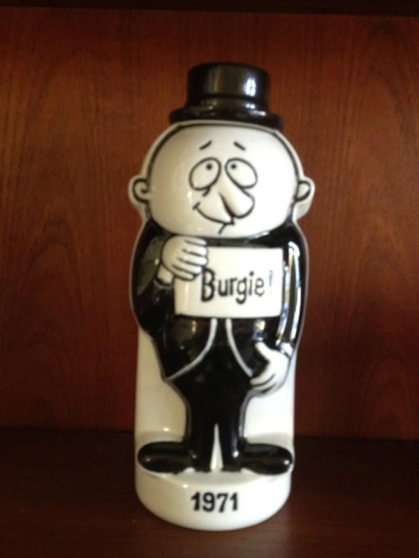 Burgie Beer Promotional 1971 Decanter