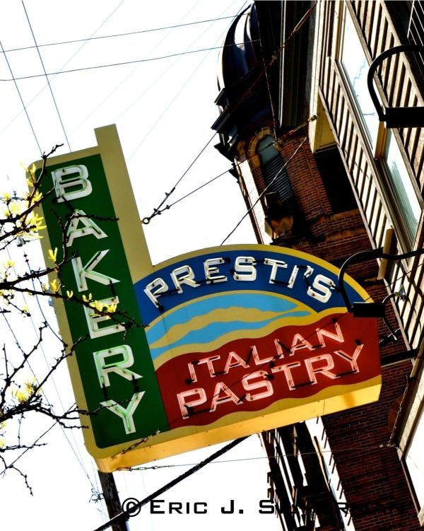Little Italy In Cleveland Prestis Italian Bakery 8x10