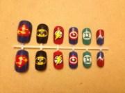 items similar superhero nail