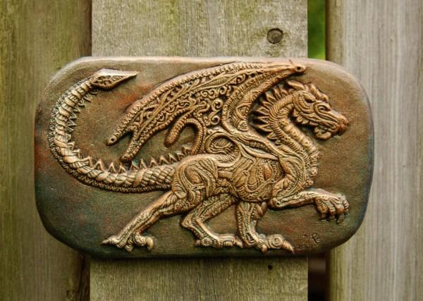Dragon Stone Sculpture Art