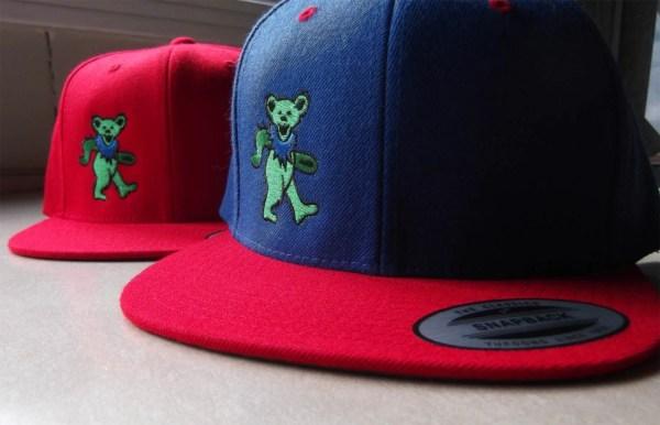Grateful Dead Dancing Bear Snapback Hat