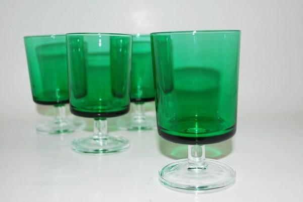 Items Similar Vintage Green Luminarc Cavalier Wine