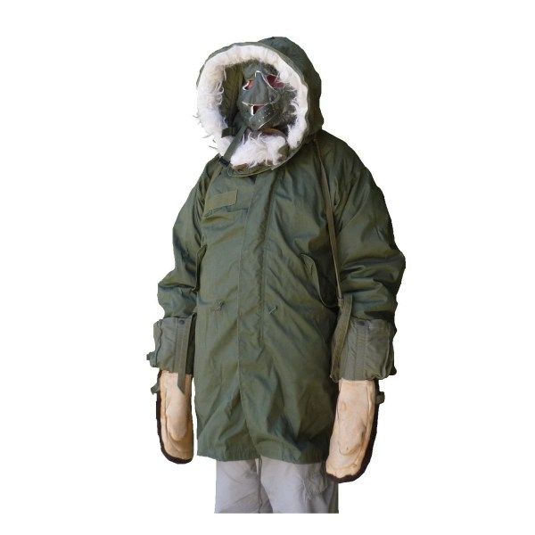 Parka -65 U. Military Extreme Cold Weather Lined Coat