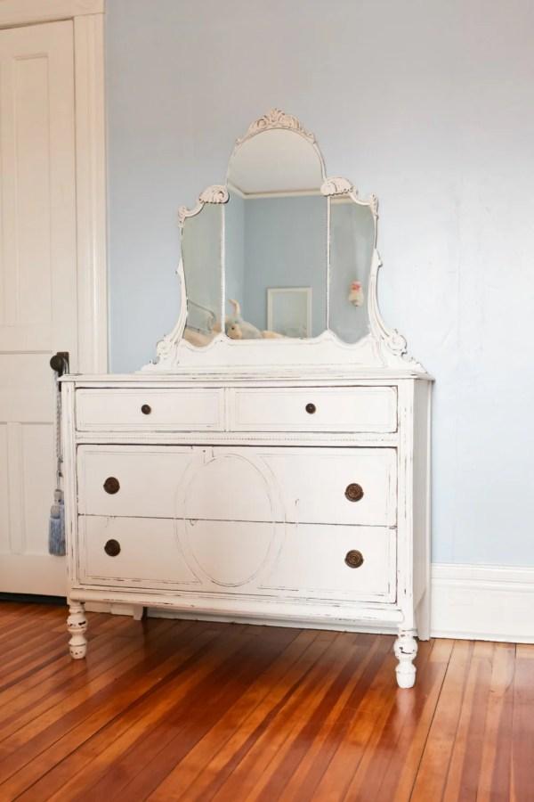 Antique White Dresser Shabby Chic