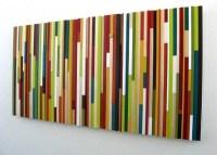 Wood Sculpture Wall Art Abstract Art Painting Modern Art