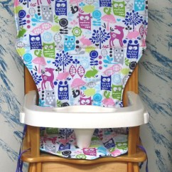 Graco Duodiner High Chair Cover Replacement White Resin Patio Chairs Jenny Lind Eddie Bauer Seat Pad
