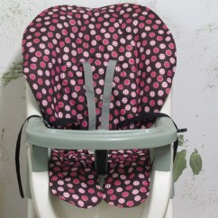 Graco Contempo High Chair Replacement Cover Cushions Target Padcoverpink Striped Dots On