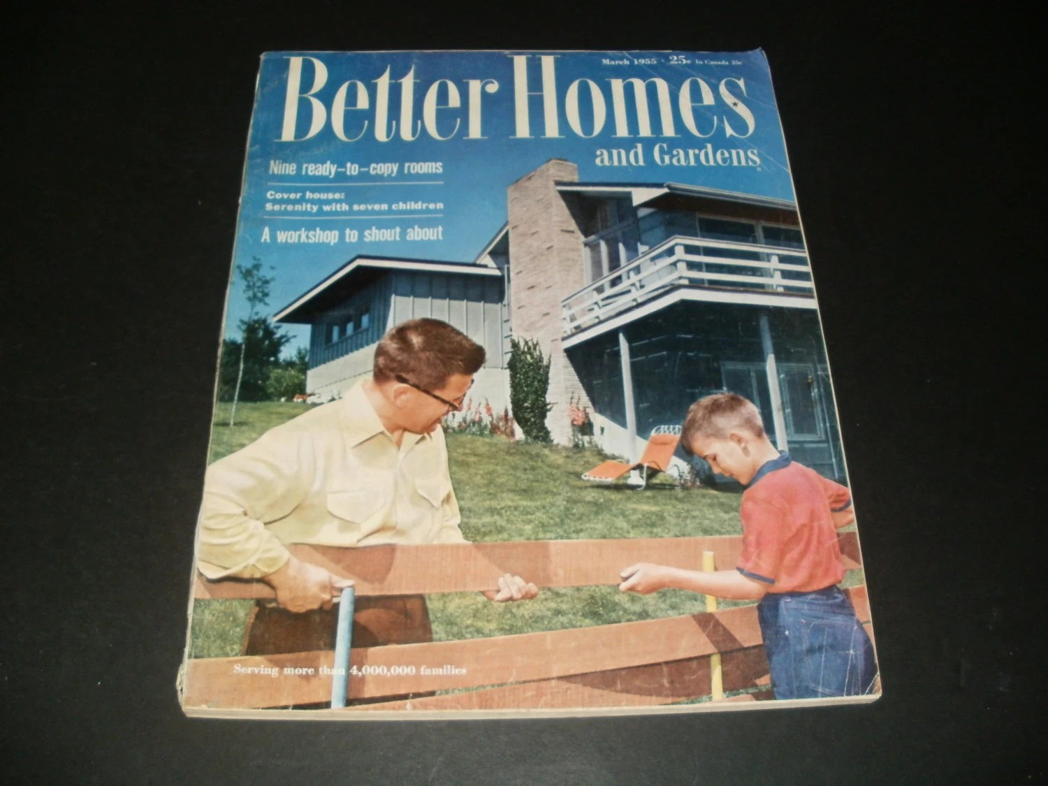Vintage Better Homes And Gardens Magazine March By