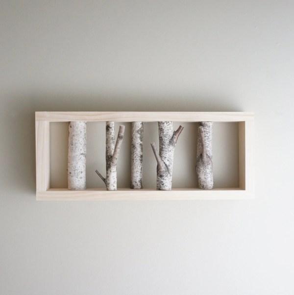 White Birch Forest Wall Art
