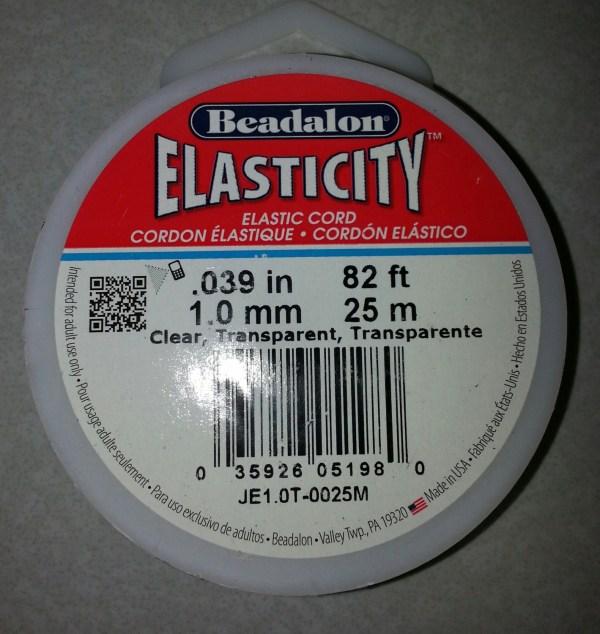 Beadalon .8 Mm Elasticity 25 Meters