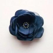 small navy blue flower bridesmaids