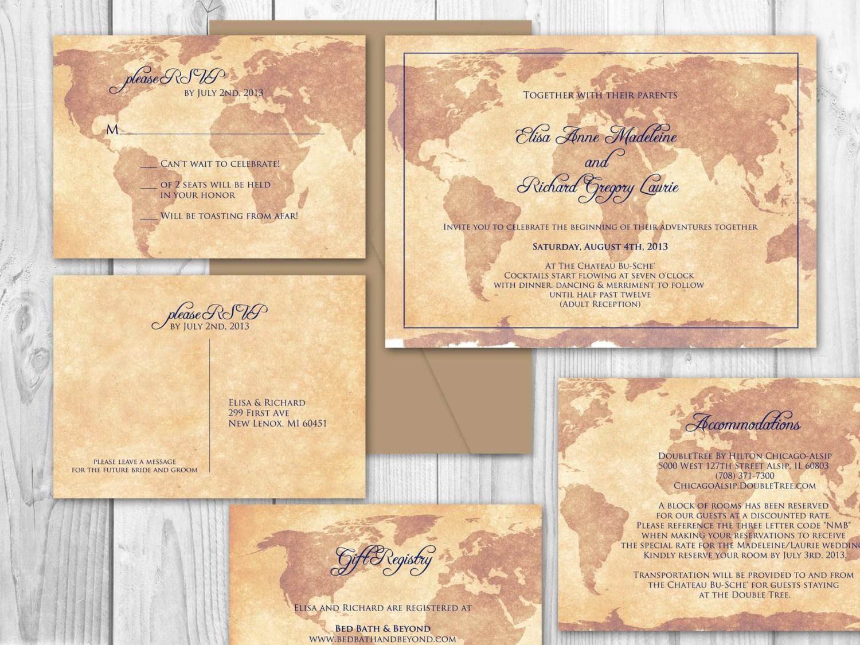 Destination Wedding Printable Wedding By Designedwithamore On Etsy
