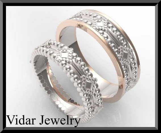 His And Hers Wedding BandsMatching Wedding Bands