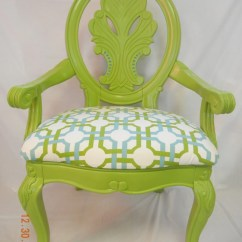 Lime Green Chair Pads Office Lobby Chairs Fabulous Ornate And Teal Accent By
