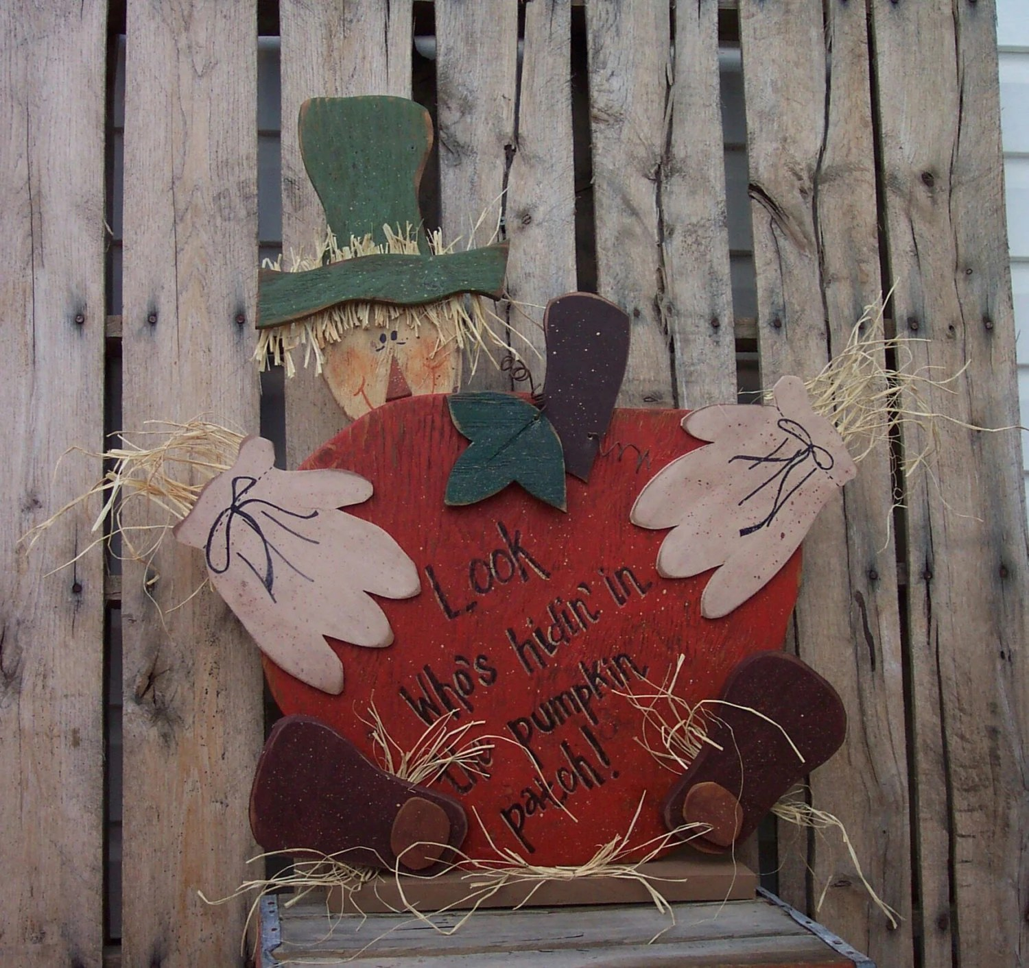 Harvest Scarecrow Wood Craft Pattern For By