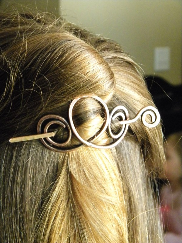 Hair Clip Accessories Sticks Copper Clips