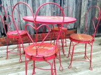 SOLD to Stacey Vintage Coca-Cola Ice Cream Parlor Table and