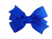 3 royal blue hair bow