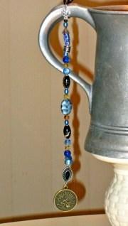 long pirate hair beads charms zodiac