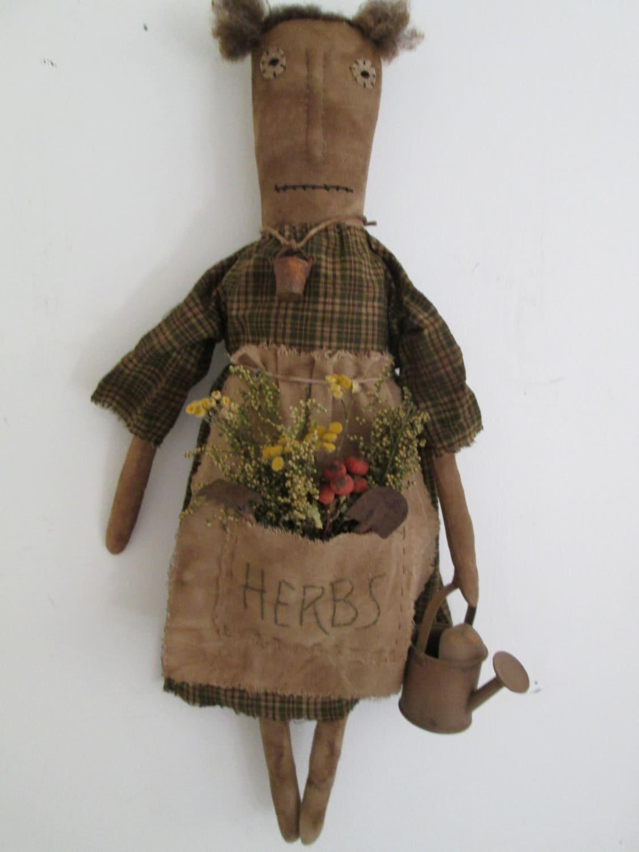 Sale Primitive Garden Doll